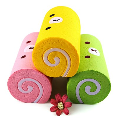 15cm Big Sponge Cake Roll PU Foam Squishy ToySquishy toys<br>15cm Big Sponge Cake Roll PU Foam Squishy Toy<br><br>Materials: PU<br>Package Content: 1 x Squishy Toy<br>Package Dimension: 17.00 x 17.00 x 10.00 cm / 6.69 x 6.69 x 3.94 inches<br>Package Weights: 70g<br>Pattern Type: Cake<br>Product Dimension: 15.00 x 8.00 x 8.00 cm / 5.91 x 3.15 x 3.15 inches<br>Product Weights: 35g<br>Products Type: Squishy Toy<br>Use: Home Decoration