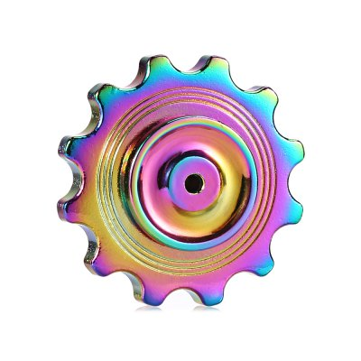 2 in 1 Top Gyro and Sawtooth DIY Fidget SpinnerFidget Spinners<br>2 in 1 Top Gyro and Sawtooth DIY Fidget Spinner<br><br>Color: Colorful<br>Frame material: Zinc Alloy<br>Package Contents: 1 x Fidget Spinner, 1 x Storage Box<br>Package size (L x W x H): 8.50 x 8.50 x 3.00 cm / 3.35 x 3.35 x 1.18 inches<br>Package weight: 0.1150 kg<br>Product size (L x W x H): 3.50 x 4.00 x 4.00 cm / 1.38 x 1.57 x 1.57 inches<br>Product weight: 0.0730 kg