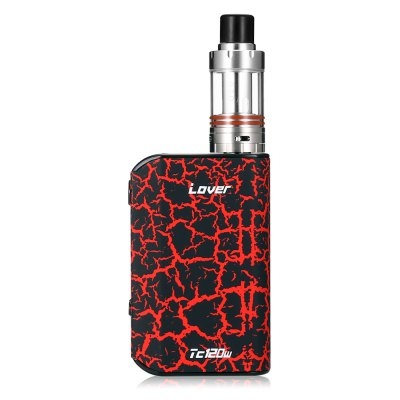 KVP Lover 120W TC Box Mod KitMod kits<br>KVP Lover 120W TC Box Mod Kit<br><br>APV Mod Wattage: 120W<br>APV Mod Wattage Range: 101-150W<br>Atomizer Capacity: 2.0ml<br>Atomizer Resistance: 0.2 ohm<br>Atomizer Type: Tank Atomizer, Clearomizer<br>Battery Capacity: 5000mAh<br>Connection Threading of Atomizer: 510<br>Material: Aluminum, Zinc Alloy<br>Mod Type: VV/VW Mod, Temperature Control Mod<br>Package Contents: 1 x Mod, 1 x Atomizer, 1 x English User Manual, 1 x USB Cable<br>Package size (L x W x H): 14.10 x 8.20 x 4.60 cm / 5.55 x 3.23 x 1.81 inches<br>Package weight: 0.3650 kg<br>Product size (L x W x H): 14.00 x 2.40 x 5.30 cm / 5.51 x 0.94 x 2.09 inches<br>Product weight: 0.2410 kg<br>Temperature Control Range: 100 - 315 Deg.C / 200 - 600 Deg.F