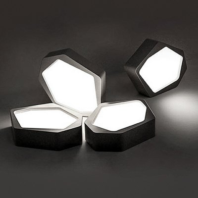 BRELONG LED Stepless Dimming Ceiling Light Stone ShapeFlush Ceiling Lights<br>BRELONG LED Stepless Dimming Ceiling Light Stone Shape<br><br>Brand: BRELONG<br>Illumination Field: 8 - 12 Square Meter<br>Luminous Flux: 1200<br>Optional Light Color: Warm White + White<br>Package Contents: 1 x BRELONG Ceiling Light, 1 x Remote Control<br>Package size (L x W x H): 35.00 x 35.00 x 15.00 cm / 13.78 x 13.78 x 5.91 inches<br>Package weight: 1.5000 kg<br>Product size (L x W x H): 38.00 x 28.50 x 8.50 cm / 14.96 x 11.22 x 3.35 inches<br>Product weight: 1.1300 kg<br>Sheathing Material: Metal<br>Type: Ceiling Lights<br>Voltage (V): AC100-240V