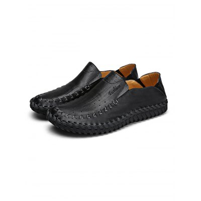 Comfortable Handmade Men Casual Leather ShoesCasual Shoes<br>Comfortable Handmade Men Casual Leather Shoes<br><br>Contents: 1 x Pair of Shoes<br>Materials: Leather<br>Occasion: Casual, Daily<br>Package Size ( L x W x H ): 34.00 x 23.00 x 12.00 cm / 13.39 x 9.06 x 4.72 inches<br>Package Weights: 0.98KG<br>Seasons: Autumn,Spring,Summer<br>Style: Leisure, Fashion, Comfortable<br>Type: Casual Shoes