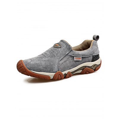 Outdoor Breathable Slip On Men Hiking ShoesHiking Shoes<br>Outdoor Breathable Slip On Men Hiking Shoes<br><br>Closure Type: Slip-On<br>Features: Sweat-absorbing, Shock-absorbing, Lightweight, Durable, Crashworthy, Breathable, Anti-slip<br>Gender: Men<br>Highlights: Breathable, Sweat Absorbing, Soft<br>Package Contents: 1 x Pair of Shoes<br>Package size: 33.00 x 22.00 x 11.00 cm / 12.99 x 8.66 x 4.33 inches<br>Package weight: 0.8800 kg<br>Product weight: 0.7000 kg<br>Season: Summer, Spring, Autumn<br>Sole Material: Rubber<br>Type: Hiking Shoes