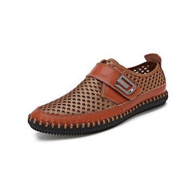 Men Hollow Net Cloth ShoesMen's Oxford<br>Men Hollow Net Cloth Shoes<br><br>Contents: 1 x  Pair of Men Hollow Net Cloth Shoes<br>Materials: Leather, Mesh, Rubber<br>Occasion: Casual, Daily<br>Package Size ( L x W x H ): 33.00 x 22.00 x 11.00 cm / 12.99 x 8.66 x 4.33 inches<br>Package Weights: 0.72KG<br>Seasons: Summer<br>Style: Leisure, Comfortable<br>Type: Casual Shoes
