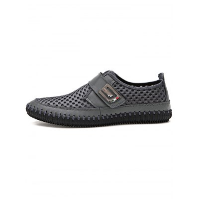 Men Hollow Net Cloth ShoesCasual Shoes<br>Men Hollow Net Cloth Shoes<br><br>Contents: 1 x  Pair of Men Hollow Net Cloth Shoes<br>Materials: Leather, Mesh, Rubber<br>Occasion: Casual, Daily<br>Package Size ( L x W x H ): 33.00 x 22.00 x 11.00 cm / 12.99 x 8.66 x 4.33 inches<br>Package Weights: 0.72KG<br>Seasons: Summer<br>Style: Leisure, Comfortable<br>Type: Casual Shoes