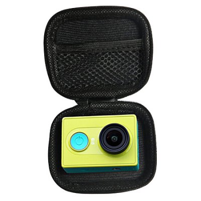 Mini Camera Bag for Xiaomi YiAction Cameras &amp; Sport DV Accessories<br>Mini Camera Bag for Xiaomi Yi<br><br>Accessory type: Camera Back Case<br>Compatible with: Xiaomi Yi<br>Package Contents: 1 x Bag<br>Package size (L x W x H): 8.00 x 6.00 x 2.50 cm / 3.15 x 2.36 x 0.98 inches<br>Package weight: 0.0500 kg<br>Product size (L x W x H): 8.00 x 6.00 x 2.50 cm / 3.15 x 2.36 x 0.98 inches<br>Product weight: 0.0300 kg