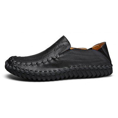 Comfortable Handmade Men Casual Leather Shoes