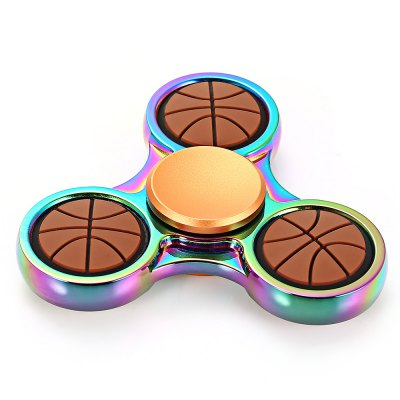 Basketball Style Dazzling Fidget Spinner Focus ToyFidget Spinners<br>Basketball Style Dazzling Fidget Spinner Focus Toy<br><br>Frame material: Zinc Alloy<br>Package Contents: 1 x Fidget Spinner, 1 x Box<br>Package size (L x W x H): 9.00 x 9.00 x 2.70 cm / 3.54 x 3.54 x 1.06 inches<br>Package weight: 0.0800 kg<br>Product size (L x W x H): 5.80 x 5.80 x 1.30 cm / 2.28 x 2.28 x 0.51 inches<br>Product weight: 0.0470 kg<br>Swing Numbers: Tri-Bar
