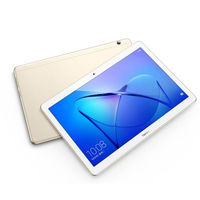 Huawei Honor T3 ( AGS-L09 ) 4G PhabletTablet PCs<br>Huawei Honor T3 ( AGS-L09 ) 4G Phablet<br><br>2G: GSM 850/900/1800/1900MHz<br>3.5mm Headphone Jack: Yes<br>3G: TD-SCDMA (B34/B39) WCDMA 850/900/1900/2100MHz<br>4G: FDD-LTE 800/850/900/1800/2100/2600MHz,TD-LTE Band 38/39/40/41<br>AC adapter: 100-240V 5V 1A<br>Additional Features: Browser, Bluetooth, Alarm, 3G, Calculator, Calendar, Sound Recorder, Wi-Fi, Phone, People, OTA, MP4, MP3, Gravity Sensing System, GPS<br>Back camera: 5.0MP with AF<br>Battery Capacity(mAh): 4800mAh, Li-ion polymer battery<br>Bluetooth: Yes<br>Brand: HUAWEI<br>Camera type: Dual cameras (one front one back)<br>Core: 1.4GHz, Quad Core<br>CPU: Qualcomm Snapdragon 425<br>CPU Brand: Qualcomm<br>External Memory: TF card up to 128GB (not included)<br>Front camera: 2.0MP<br>G-sensor: Supported<br>GPS: Yes<br>GPU: Adreno 308<br>IPS: Yes<br>Languages support : Supports multi-language<br>MIC: Supported<br>Micro USB Slot: Yes<br>MS Office format: PPT, Excel, Word<br>Music format: MP3, FLAC, APE<br>Network type: FDD-LTE,GSM,TD-SCDMA,TDD-LTE,WCDMA<br>OS: Android 7.0<br>Package size: 25.20 x 18.00 x 5.50 cm / 9.92 x 7.09 x 2.17 inches<br>Package weight: 0.8100 kg<br>Picture format: PNG, BMP, GIF, JPEG, JPG<br>Power Adapter: 1<br>Product size: 22.98 x 15.98 x 0.79 cm / 9.05 x 6.29 x 0.31 inches<br>Product weight: 0.4600 kg<br>RAM: 3GB<br>ROM: 32GB<br>Screen resolution: 1280 x 800 (WXGA)<br>Screen size: 9.6 inch<br>Screen type: Capacitive<br>SIM Card Slot: Nano SIM Card Slot, Single SIM<br>SIM Pin: 1<br>Skype: Supported<br>Speaker: Supported<br>Support Network: 2G, 4G, Dual WiFi 2.4GHz/5.0GHz, 3G<br>Tablet PC: 1<br>TF card slot: Yes<br>Type: Phablet<br>USB Cable: 1<br>Video format: 3GP, MP4<br>WIFI: 802.11 a/b/g/n/ac wireless internet<br>Youtube: Supported