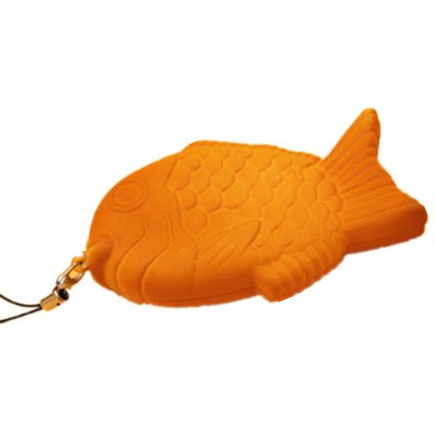 8cm Realistic Fish Ultra Soft PU Foam Squishy Toy