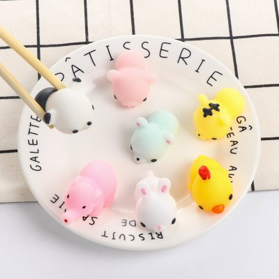 Cute Mini Cartoon Pig TPR Animal Squishy ToySquishy toys<br>Cute Mini Cartoon Pig TPR Animal Squishy Toy<br><br>Color: Pink<br>Materials: TPR<br>Package Content: 1 x Squishy Toy<br>Package Dimension: 5.00 x 5.00 x 5.00 cm / 1.97 x 1.97 x 1.97 inches<br>Package Weights: 35g<br>Pattern Type: Animal<br>Product Dimension: 4.00 x 3.00 x 2.50 cm / 1.57 x 1.18 x 0.98 inches<br>Product Weights: 21g<br>Products Type: Squishy Toy<br>Use: Art &amp; Collectible
