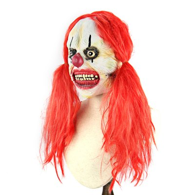 Red Pigtail Zombie Latex MaskClassic Toys<br>Red Pigtail Zombie Latex Mask<br><br>Appliable Crowd: Unisex<br>Materials: Latex<br>Nature: Other<br>Package Contents: 1 x Mask<br>Package size: 24.00 x 28.50 x 2.00 cm / 9.45 x 11.22 x 0.79 inches<br>Package weight: 0.2600 kg<br>Product weight: 0.2390 kg