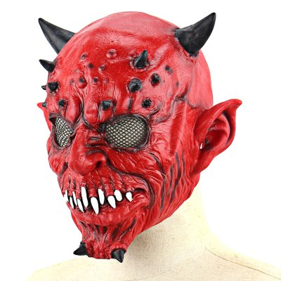 Horrible Yaksha Latex Mask with Jagged TeethClassic Toys<br>Horrible Yaksha Latex Mask with Jagged Teeth<br><br>Appliable Crowd: Unisex<br>Materials: Latex<br>Nature: Other<br>Package Contents: 1 x Mask<br>Package size: 24.00 x 28.50 x 1.50 cm / 9.45 x 11.22 x 0.59 inches<br>Package weight: 0.1750 kg<br>Product weight: 0.1540 kg