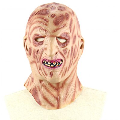 Burnt Face Latex Mask