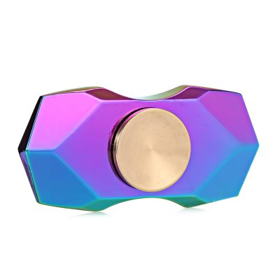 Two-blade Diamond-shaped Zinc Alloy Fidget SpinnerFidget Spinners<br>Two-blade Diamond-shaped Zinc Alloy Fidget Spinner<br><br>Color: Colorful<br>Frame material: Zinc Alloy<br>Package Contents: 1 x Fidget Spinner, 1 x Box<br>Package size (L x W x H): 9.00 x 6.30 x 1.70 cm / 3.54 x 2.48 x 0.67 inches<br>Package weight: 0.1040 kg<br>Product size (L x W x H): 5.80 x 2.80 x 1.30 cm / 2.28 x 1.1 x 0.51 inches<br>Product weight: 0.0600 kg<br>Swing Numbers: Dual Bar<br>Type: Rainbow
