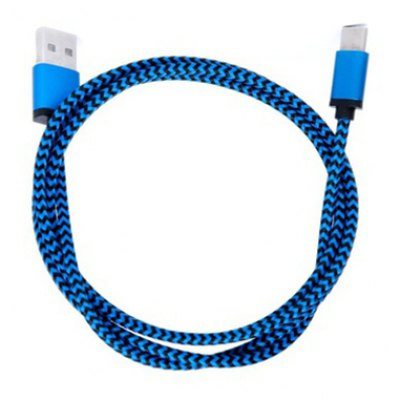 1m Type-C Nylon Data Transfer Charging Cable