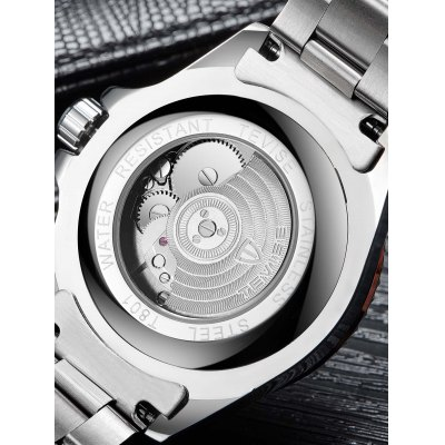 TEVISE T801 Men Mechanical WatchMens Watches<br>TEVISE T801 Men Mechanical Watch<br><br>Band material: Stainless Steel<br>Band size: 24 x 2cm<br>Brand: Tevise<br>Case material: Stainless Steel<br>Clasp type: Hook buckle<br>Dial size: 4.3 x 4.3 x 1.4cm<br>Display type: Analog<br>Movement type: Mechanical watch<br>Package Contents: 1 x Watch, 1 x Box<br>Package size (L x W x H): 10.00 x 10.00 x 6.00 cm / 3.94 x 3.94 x 2.36 inches<br>Package weight: 0.3500 kg<br>Product size (L x W x H): 24.00 x 4.30 x 1.40 cm / 9.45 x 1.69 x 0.55 inches<br>Product weight: 0.1350 kg<br>Shape of the dial: Round<br>Special features: Date<br>Watch mirror: Mineral glass<br>Watch style: Fashion<br>Watches categories: Men<br>Water resistance : Life water resistant