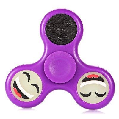 LED Happy Face Tri-blade Fidget Spinner Focus ToyFidget Spinners<br>LED Happy Face Tri-blade Fidget Spinner Focus Toy<br><br>Color: Purple<br>Frame material: Plastic<br>Package Contents: 1 x Fidget Spinner<br>Package size (L x W x H): 9.00 x 9.00 x 1.20 cm / 3.54 x 3.54 x 0.47 inches<br>Package weight: 0.0590 kg<br>Product size (L x W x H): 6.80 x 6.80 x 1.10 cm / 2.68 x 2.68 x 0.43 inches<br>Product weight: 0.0320 kg<br>Swing Numbers: Tri-Bar
