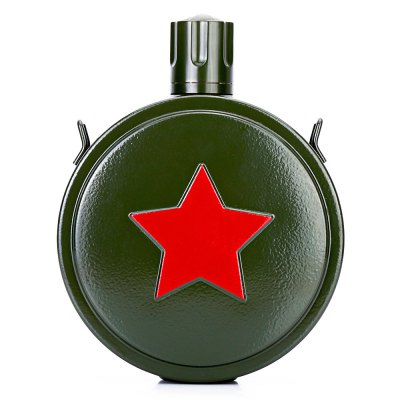 Retro Army Style Stainless Steel 550mL Water Bottle KettleOther Camping Gadgets<br>Retro Army Style Stainless Steel 550mL Water Bottle Kettle<br><br>Capacity: 550mL<br>Material: PP, Stainless Steel<br>Package Contents: 1 x Water Bottle<br>Package size (L x W x H): 13.50 x 5.00 x 20.00 cm / 5.31 x 1.97 x 7.87 inches<br>Package weight: 0.3000 kg<br>Product size (L x W x H): 13.00 x 4.50 x 17.00 cm / 5.12 x 1.77 x 6.69 inches<br>Product weight: 0.2170 kg