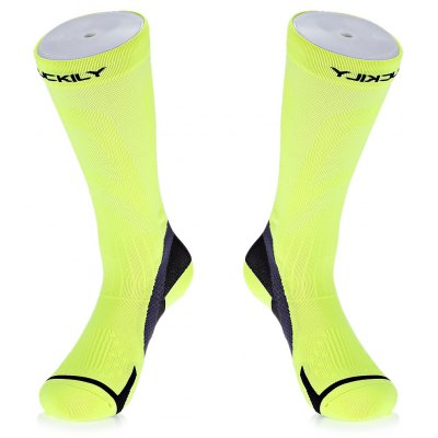 NUCKILY PF14 Pair of Compression Cycling Hiking Sports Socks