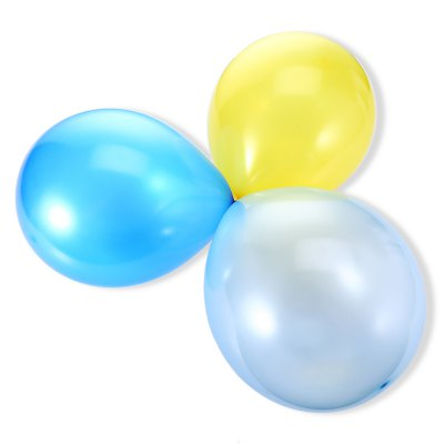 50pcs round balloon toy for outdoor games
