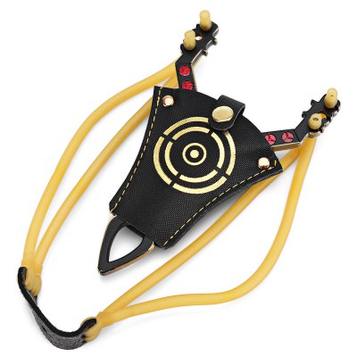 Pirate Style Zinc Alloy SlingshotNovelty Toys<br>Pirate Style Zinc Alloy Slingshot<br><br>Features: manual<br>Materials: Other, Plastic, Rubber, Zinc Alloy<br>Package Contents: 1 x Frame, 1 x Rubber Tube Set, 1 x Cover, 1 x Pack of Projectiles<br>Package size: 14.60 x 19.60 x 2.40 cm / 5.75 x 7.72 x 0.94 inches<br>Package weight: 0.1730 kg<br>Product size: 14.00 x 9.00 x 5.00 cm / 5.51 x 3.54 x 1.97 inches<br>Product weight: 0.0760 kg<br>Series: Entertainment<br>Theme: Sports