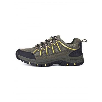 Anti-slip Outdoor Hiking ShoesHiking Shoes<br>Anti-slip Outdoor Hiking Shoes<br><br>Contents: 1 x Pair of Shoes<br>Materials: Mesh, PU, Rubber<br>Occasion: Daily, Casual<br>Package Size ( L x W x H ): 33.00 x 22.00 x 11.00 cm / 12.99 x 8.66 x 4.33 inches<br>Package Weights: 1.080kg<br>Seasons: Autumn,Spring,Summer<br>Style: Leisure<br>Type: Hiking Shoes