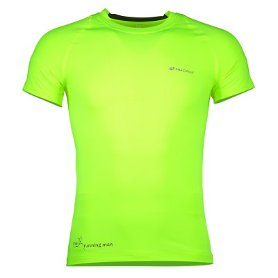 NUCKILY MG011 Cycling T-shirtCycling Clothings<br>NUCKILY MG011 Cycling T-shirt<br><br>Brand: NUCKILY<br>Feature: Quick Dry, High elasticity, Breathable<br>For: Cycling<br>Material: Spandex, Polyester<br>Package Contents: 1 x NUCKILY MG011 Cycling T-shirt<br>Package size (L x W x H): 24.00 x 20.00 x 2.00 cm / 9.45 x 7.87 x 0.79 inches<br>Package weight: 0.1900 kg<br>Product weight: 0.1400 kg<br>Size: L,M<br>Suitable Crowds: Unisex<br>Type: Short sleeve Tops