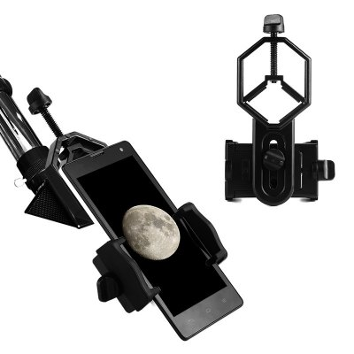 Universal Phone Camera HolderStands &amp; Holders<br>Universal Phone Camera Holder<br><br>Features: Detachable<br>Material: ABS<br>Package Contents: 1 x Phone Holder<br>Package size (L x W x H): 10.00 x 6.00 x 5.00 cm / 3.94 x 2.36 x 1.97 inches<br>Package weight: 0.0650 kg<br>Product size (L x W x H): 8.00 x 5.00 x 4.00 cm / 3.15 x 1.97 x 1.57 inches<br>Product weight: 0.0450 kg<br>Type: Mount Holder