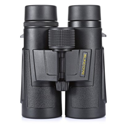 SUNCORE Water-resistant 8 x 42mm Binocular TelescopeBinoculars and Telescopes<br>SUNCORE Water-resistant 8 x 42mm Binocular Telescope<br><br>Amplification Factor: 8X<br>Brand: SUNCORE<br>Coating Film: FMC<br>Exit pupil diameter: 5.3mm<br>Exit pupil distance: 21mm<br>Eyepiece Diameter: 24mm<br>Features: Waterproof, Anti-slip<br>Field Angle(degree): 426ft / 1000yds<br>Field of view: 7.5 degree<br>For: Hunting, Beach, Bird watching, Boating/Yachting, Theater, Horse racing<br>Material: Plastic<br>Objective Lens (mm) : 42mm<br>Optical Material: BAK-4<br>Package Contents: 1 x SUNCORE Binocular, 1 x Storage Bag, 1 x English User Manual<br>Package size (L x W x H): 16.50 x 17.50 x 8.00 cm / 6.5 x 6.89 x 3.15 inches<br>Package weight: 0.9450 kg<br>Prism System: Roof System<br>Product size (L x W x H): 14.50 x 13.00 x 7.00 cm / 5.71 x 5.12 x 2.76 inches<br>Product weight: 0.7340 kg<br>Type: Binocular Telescope