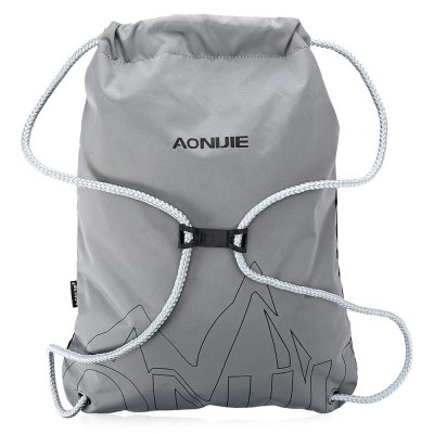 AONIJIE Drawstring BackpackDrawstring Bags<br>AONIJIE Drawstring Backpack<br><br>Brand: AONIJIE<br>Capacity: 10 - 20L<br>Features: Ultra Light, Water Resistant<br>For: Casual<br>Material: Nylon<br>Package Contents: 1 x AONIJIE Drawstring Backpack<br>Package size (L x W x H): 36.00 x 17.00 x 2.00 cm / 14.17 x 6.69 x 0.79 inches<br>Package weight: 0.2250 kg<br>Product size (L x W x H): 42.00 x 34.00 x 1.80 cm / 16.54 x 13.39 x 0.71 inches<br>Product weight: 0.1750 kg<br>Type: Backpack
