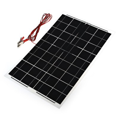 12 - 18V 30W Monocrystalline Silicon Solar PanelOther Camping Gadgets<br>12 - 18V 30W Monocrystalline Silicon Solar Panel<br><br>Color: Black<br>Material: Silicone<br>Package Contents: 1 x Panel<br>Package Size(L x W x H): 74.00 x 29.00 x 3.00 cm / 29.13 x 11.42 x 1.18 inches<br>Package weight: 0.9700 kg<br>Product Size  ( L x W x H ): 73.00 x 28.00 x 1.60 cm / 28.74 x 11.02 x 0.63 inches<br>Product weight: 0.6900 kg