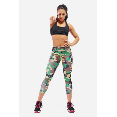 Yoga Slimming Fitness Women Capri Pants