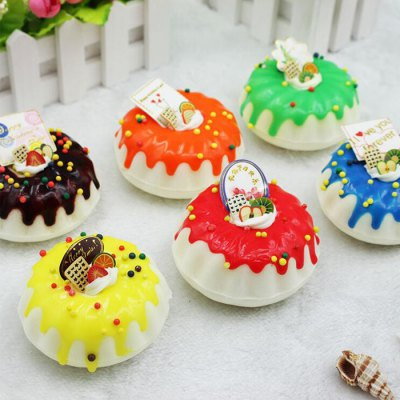 Realistic Round Cream Cake PU Squishy Toy ModelSquishy toys<br>Realistic Round Cream Cake PU Squishy Toy Model<br><br>Color: Yellow<br>Materials: PU<br>Package Content: 1 x Squishy Toy<br>Package Dimension: 15.00 x 12.00 x 8.00 cm / 5.91 x 4.72 x 3.15 inches<br>Package Weights: 95g<br>Pattern Type: Cake<br>Product Dimension: 7.00 x 7.00 x 7.00 cm / 2.76 x 2.76 x 2.76 inches<br>Product Weights: 25g<br>Products Type: Squishy Toy<br>Use: Home Decoration, Art &amp; Collectible
