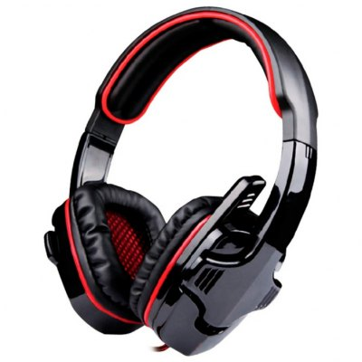 VP - X9 Over-ear Stereo Gaming Headset with MicphoneEarbud Headphones<br>VP - X9 Over-ear Stereo Gaming Headset with Micphone<br><br>Application: Gaming<br>Cable Length (m): 1.7m<br>Compatible with: Mobile phone, MP3<br>Connectivity: Wired<br>Driver unit: 40mm<br>Frequency response: 20-20000Hz<br>Function: Microphone, Noise Cancelling, HiFi, Voice control<br>Impedance: 32ohms±15 percent<br>Language: No<br>Material: ABS<br>Package Contents: 1 x Headset<br>Package size (L x W x H): 27.00 x 24.50 x 14.00 cm / 10.63 x 9.65 x 5.51 inches<br>Package weight: 0.7500 kg<br>Product size (L x W x H): 23.00 x 21.00 x 10.00 cm / 9.06 x 8.27 x 3.94 inches<br>Product weight: 0.4400 kg<br>Type: Over-ear<br>Wearing type: Headband