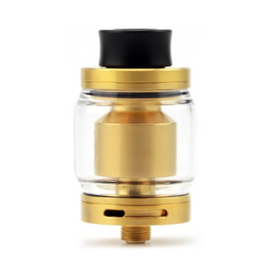 ADVKEN CP RTARebuildable Atomizers<br>ADVKEN CP RTA<br><br>Brand: ADVKEN<br>Material: Stainless Steel, Glass<br>Model: CP<br>Overall Diameter: 24mm<br>Package Contents: 1 x Atomizer, 1 x Accessory Bag, 1 x 316SS Heating Wire, 1 x Glass Tank<br>Package size (L x W x H): 8.00 x 3.70 x 8.00 cm / 3.15 x 1.46 x 3.15 inches<br>Package weight: 0.1300 kg<br>Product size (L x W x H): 4.70 x 2.40 x 2.40 cm / 1.85 x 0.94 x 0.94 inches<br>Product weight: 0.0500 kg<br>Rebuildable Atomizer: RBA,RTA<br>Tank Capacity: 3.5ml<br>Thread: 510<br>Type: Rebuildable Tanks, Rebuildable Atomizer