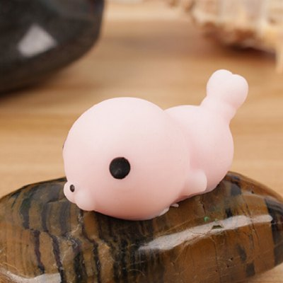 Mini Cartoon Lazy Seal TPR Animal Squishy ToySquishy toys<br>Mini Cartoon Lazy Seal TPR Animal Squishy Toy<br><br>Color: Pink<br>Materials: TPR<br>Package Content: 1 x Squishy Toy<br>Package Dimension: 5.00 x 5.00 x 5.00 cm / 1.97 x 1.97 x 1.97 inches<br>Package Weights: 35g<br>Pattern Type: Animal<br>Product Dimension: 4.00 x 3.00 x 3.00 cm / 1.57 x 1.18 x 1.18 inches<br>Product Weights: 21g<br>Products Type: Squishy Toy<br>Use: Home Decoration, Art &amp; Collectible