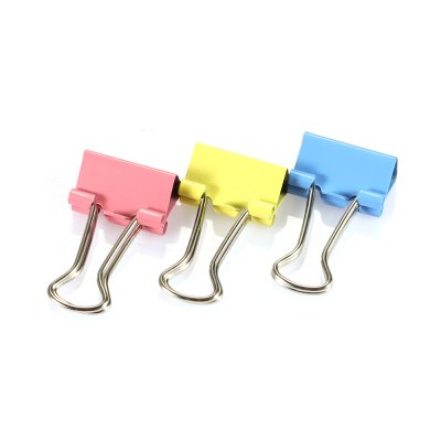 Deli 8556ES 15mm Mini Metal Binder Clips 60PCSSchool Supplies<br>Deli 8556ES 15mm Mini Metal Binder Clips 60PCS<br><br>Brand: Deli<br>Features: Metal Binder Clips<br>Model: 8556ES<br>Package Contents: 60 x Deli 8556ES Metal Binder Clips<br>Package size (L x W x H): 6.00 x 6.00 x 5.50 cm / 2.36 x 2.36 x 2.17 inches<br>Package weight: 0.1000 kg<br>Product weight: 0.0890 kg