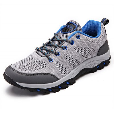 Breathable Lace-up Men Outdoor Hiking Shoes