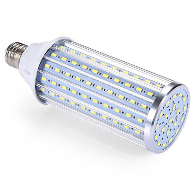 E27 360 Degree 160 LEDs Corn BulbCorn Bulbs<br>E27 360 Degree 160 LEDs Corn Bulb<br><br>Available Light Color: White<br>CCT/Wavelength: 6000K<br>Emitter Types: SMD 5730<br>Features: Long Life Expectancy<br>Function: Commercial Lighting, Home Lighting<br>Holder: E27<br>Luminous Flux: 1760Lm<br>Output Power: 40W<br>Package Contents: 1 x E27 160 LEDs Corn Bulb<br>Package size (L x W x H): 6.50 x 6.50 x 21.00 cm / 2.56 x 2.56 x 8.27 inches<br>Package weight: 0.2500 kg<br>Product weight: 0.2200 kg<br>Sheathing Material: Aluminum, Plastic<br>Total Emitters: 160<br>Type: Corn Bulbs<br>Voltage (V): AC 80-265V