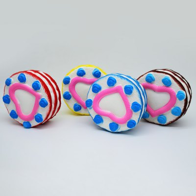 Round Sandwich Cream Cake PU Foam Squishy ToySquishy toys<br>Round Sandwich Cream Cake PU Foam Squishy Toy<br><br>Color: Yellow<br>Materials: PU<br>Package Content: 1 x Squishy Toy<br>Package Dimension: 14.00 x 14.00 x 7.00 cm / 5.51 x 5.51 x 2.76 inches<br>Package Weights: 105g<br>Pattern Type: Cake<br>Product Dimension: 12.50 x 12.50 x 5.00 cm / 4.92 x 4.92 x 1.97 inches<br>Product Weights: 79g<br>Products Type: Squishy Toy<br>Use: Home Decoration, Art &amp; Collectible
