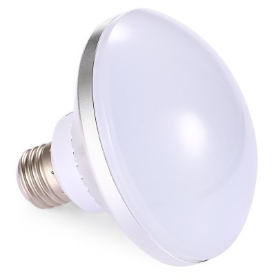 E27 15W 30 LEDs UFO Light BulbGlobe bulbs<br>E27 15W 30 LEDs UFO Light Bulb<br><br>Available Light Color: Cold White<br>CCT/Wavelength: 6500K<br>Emitter Types: SMD 5730<br>Features: Long Life Expectancy<br>Function: Commercial Lighting, Home Lighting<br>Holder: E27<br>Luminous Flux: 1300Lm<br>Output Power: 15W<br>Package Contents: 1 x E27 15W 30 LEDs UFO Light Bulb<br>Package size (L x W x H): 12.00 x 12.00 x 10.00 cm / 4.72 x 4.72 x 3.94 inches<br>Package weight: 0.1760 kg<br>Product size (L x W x H): 11.00 x 11.00 x 10.00 cm / 4.33 x 4.33 x 3.94 inches<br>Product weight: 0.1190 kg<br>Sheathing Material: Copper, PP<br>Total Emitters: 30<br>Type: UFO Bulb<br>Voltage (V): AC 110-220