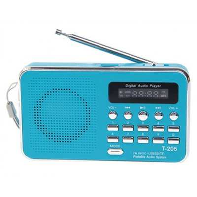 Mini Digital MP3 Player FM Radio