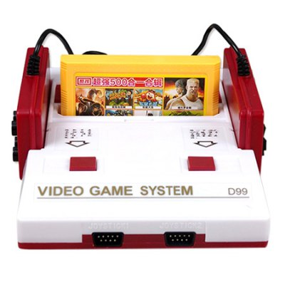 D99 Family PAL Format TV Video Game Console