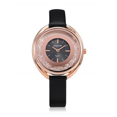 KALEIR B8318 Fashion Leather Strap Watchfor WomenWomens Watches<br>KALEIR B8318 Fashion Leather Strap Watchfor Women<br><br>Band material: Leather<br>Band size: 24 x 1.5cm<br>Brand: KALEIR<br>Case material: Alloy<br>Clasp type: Pin buckle<br>Dial size: 3.44 x 3.44 x 0.8cm<br>Display type: Analog<br>Movement type: Quartz watch<br>Package Contents: 1 x KALEIR Watch<br>Package size (L x W x H): 12.00 x 5.00 x 2.00 cm / 4.72 x 1.97 x 0.79 inches<br>Package weight: 0.0640 kg<br>Product size (L x W x H): 24.00 x 3.44 x 0.80 cm / 9.45 x 1.35 x 0.31 inches<br>Product weight: 0.0320 kg<br>Shape of the dial: Round<br>Watch style: Fashion<br>Watches categories: Women<br>Water resistance : Life water resistant<br>Wearable length: 17.5 - 21.5cm