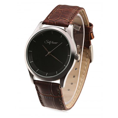 SELF LOVER SL1001 Men Quartz WatchMens Watches<br>SELF LOVER SL1001 Men Quartz Watch<br><br>Band material: PU Leather<br>Band size: 25 x 2cm<br>Brand: SELF LOVER<br>Case material: Alloy<br>Clasp type: Pin buckle<br>Dial size: 3.9 x 3.9 x 1cm<br>Display type: Analog<br>Movement type: Quartz watch<br>Package Contents: 1 x Watch<br>Package size (L x W x H): 26.00 x 4.00 x 2.00 cm / 10.24 x 1.57 x 0.79 inches<br>Package weight: 0.0600 kg<br>Product size (L x W x H): 25.00 x 3.90 x 1.00 cm / 9.84 x 1.54 x 0.39 inches<br>Product weight: 0.0370 kg<br>Shape of the dial: Round<br>Watch style: Fashion<br>Watches categories: Men<br>Water resistance : Life water resistant<br>Wearable length: 19 - 23cm