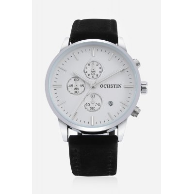 Men Quartz Watch 42mmMens Watches<br>Men Quartz Watch 42mm<br><br>Band material: Genuine Leather<br>Band size: 25.5 x 2cm, 25.5 x 2cm<br>Case material: Stainless Steel<br>Clasp type: Pin buckle<br>Dial size: 4.2 x 4.2 x 1cm, 4.2 x 4.2 x 1cm<br>Display type: Analog<br>Movement type: Quartz watch<br>Package Contents: 1 x Watch, 1 x Box , 1 x Watch, 1 x Box<br>Package size (L x W x H): 16.00 x 8.00 x 5.00 cm / 6.3 x 3.15 x 1.97 inches, 16.00 x 8.00 x 5.00 cm / 6.3 x 3.15 x 1.97 inches<br>Package weight: 0.1500 kg, 0.1500 kg<br>Product size (L x W x H): 25.50 x 4.20 x 1.00 cm / 10.04 x 1.65 x 0.39 inches, 25.50 x 4.20 x 1.00 cm / 10.04 x 1.65 x 0.39 inches<br>Product weight: 0.0600 kg, 0.0600 kg<br>Shape of the dial: Round<br>Special features: Working sub-dial, Date<br>Watch style: Fashion<br>Watches categories: Men<br>Water resistance : Life water resistant<br>Wearable length: 19 - 23cm, 19 - 23cm
