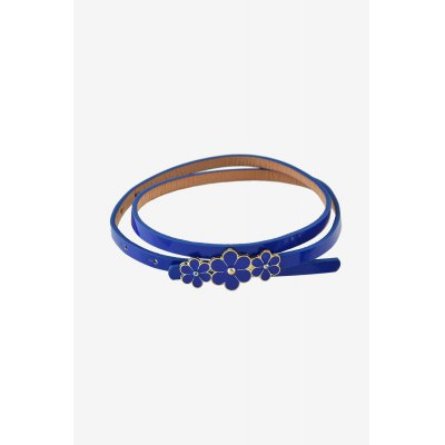 Girls Leather Belt with Pin Buckle