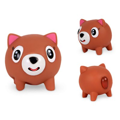 Cute Screaming Squishy Cartoon Animal Rubber Toy -  USD2.17 Online Shopping GearBest.com