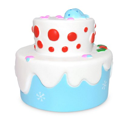 Squishy Foam Toys : Cute Two-layer Bowknot Cake PU Foam Squishy Toy -  USD8.29 Online Shopping GearBest.com