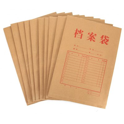 deli 5953 Kraft Paper File Packet - 10pcs